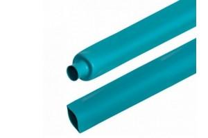 Термоусадочная трубка диам 1,5 0,75(зеленая)