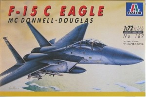 Самолёт F-15C Eagle (1:72)