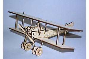 Конструктор деревянный самолет Сикорский С-16