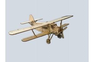 Конструктор деревянный самолет АН-2