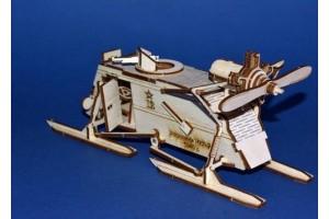 Конструктор деревянный Аэросани НКЛ-26