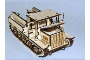 Конструктор деревянный: артелеристский тягачЯ-12