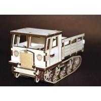 Конструктор деревянный СТЗ-5. Комплектация «Тягач»