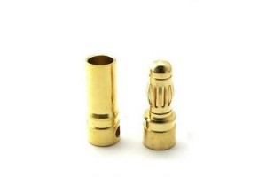 Разъем DUALSKY gold connector 4mm