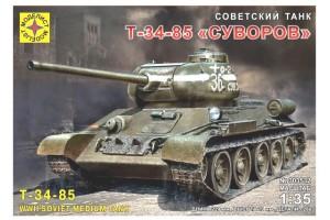 Моделист 303532 Советский танк Т-34-85 Суворов
