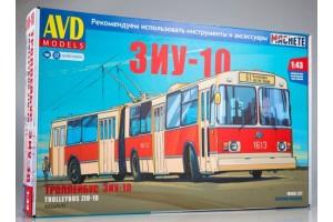 ЗиУ-10 (ЗиУ-683) троллейбус (1:43)