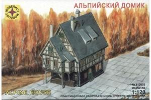 Моделист  1 120 Альпийский домик