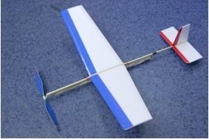 Резиномоторная модель Пчелка