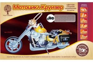 Модель сборная Мотоцил Круйзер дер. РС020 ВГА