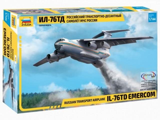 Звезда 7029 Российский транспортно-десантный самол