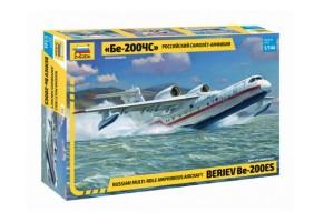 Звезда 7034 Российский самолет-амфибия Бе-200ЧС