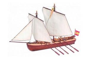 Модель капитанской шлюпки корабля Artesania Latina
