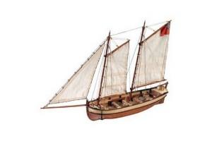 Сборная деревянная модель шлюпки корабля Artesania