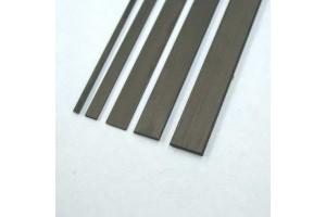 Профиль карбоновый 0,5*3*1000мм