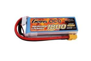Аккумулятор Gens ace 1800mAh 18.5V 45C 5S1P Lipo с