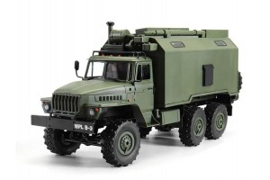 Радиоуправляемая машина WPL УРАЛ (зеленый) 6WD