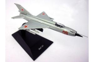 Модель самолёта МИГ-21 DeAgostini