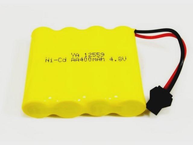 Ni-Cd 400mAh, 4.8V, SM для Double Eagle
