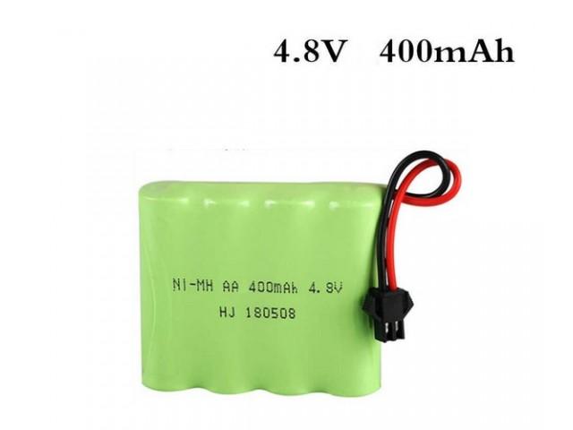 Аккумулятор Ni-Mh 400mAh, 4.8V, SM для Double Eagl