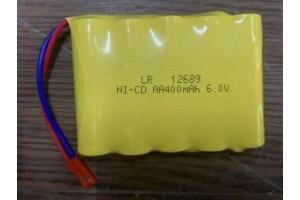 Аккумулятор Ni-Cd 400mAh, 6V, JST
