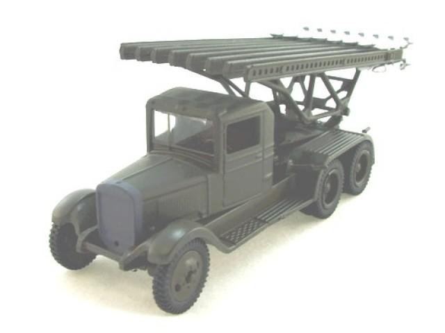 1 72 БМ-13 Катюша боевая машина
