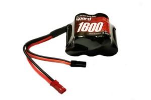 Аккумулятор Ni-Mh Spard 1600mAh, 6,0V, JST-BEC,
