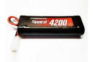 Аккумулятор Ni-Mh Spard 4200mAh, 7,2V, Tamiya