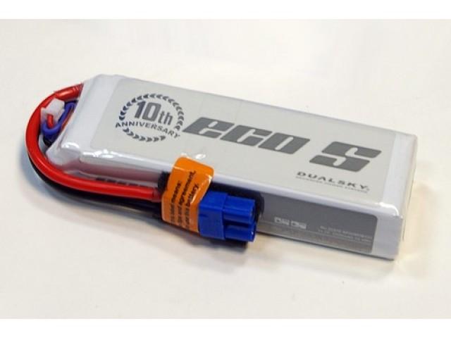 Dualsky ECO 2200мАч 3S1P 11.1V 25С