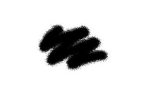 Краска чёрная акриловая