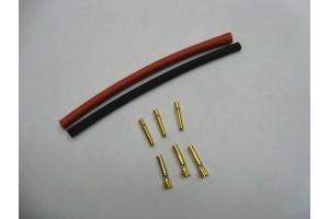 DUALSKY коннектор DB2 (3 шт с термоусадкой)