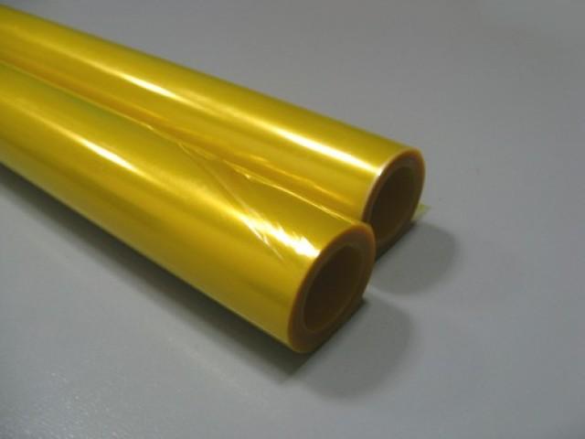 Лавсан желтый (крашенный)
