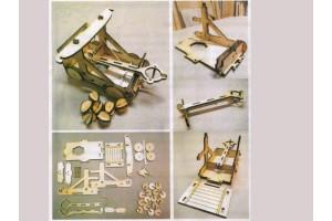 Конструктор деревянный Катапульта