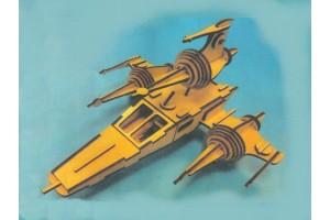 Конструктор деревянный Звездный шатл