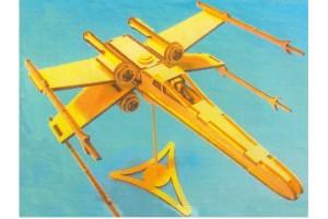 Конструктор деревянный Звездный истребитель