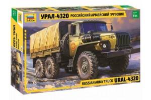 Звезда 3654 Российский армейский грузовик Урал-432
