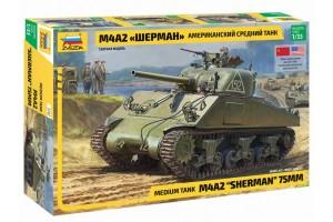 Звезда Американский средний танк М4А2 Шерман