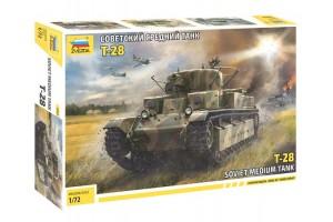 Звезда mm5064  Советский средний танк Т-28 , 1 72