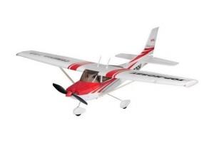 Р У самолетTop RC Cessna 182 400 class красная 965