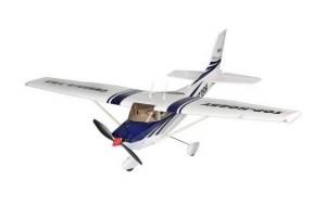 Р У самолет Top RC Cessna 182 400 class синяя 965м